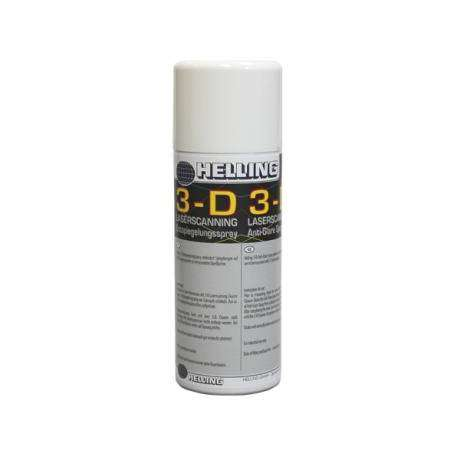 Spray matifiant pour scan 3D