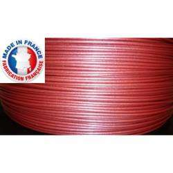 Filament 3D ADVANCE PLA rouge métallisé