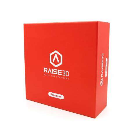 Filament PLA prémium rouge translucide officiel Raise
