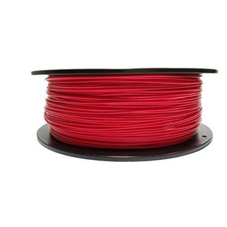 Filament PETG rouge opaque 3D Advance